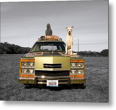 Family Queen Truckster Metal Print by Jimmy Bruch