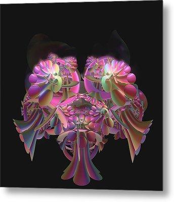 Fancy Bouquet Metal Print
