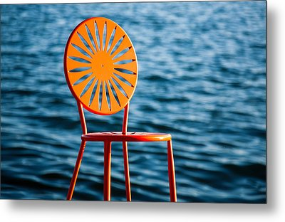 Fancy Chair Metal Print by Todd Klassy
