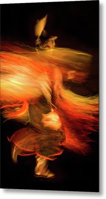 Fancy Dancer Metal Print by Jeremiah Armstrong