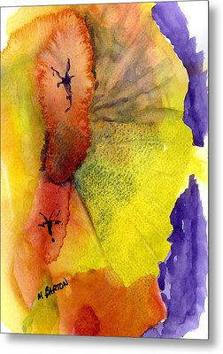 Metal Print featuring the painting Fandango by Marilyn Barton