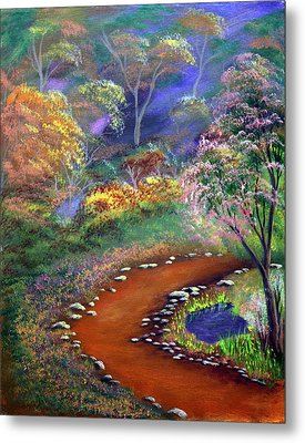 Fantasy Path Metal Print