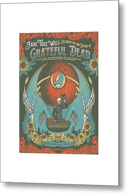 Fare Thee Well Metal Print by Gd