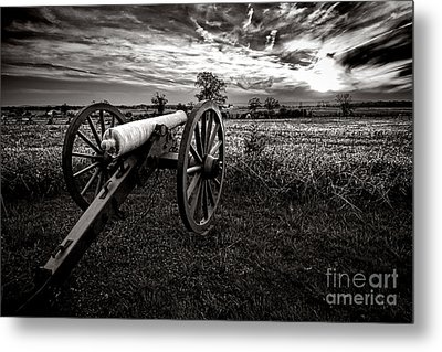 Farewell To Gettysburg Metal Print by Olivier Le Queinec