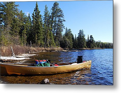 Farewell To Hope Lake Metal Print by Larry Ricker