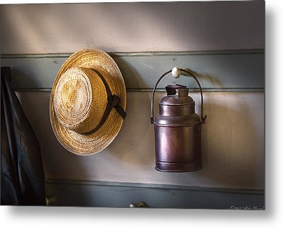 Farm - Tool - The Coat Rack Metal Print by Mike Savad