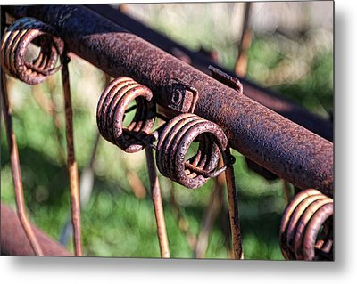 Metal Print featuring the photograph Farm Equipment 6 by Ely Arsha