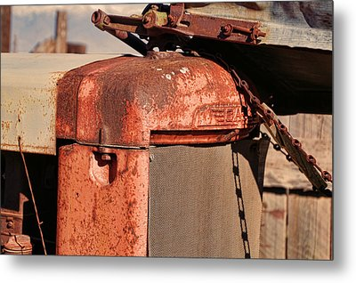 Metal Print featuring the photograph Farm Equipment 8 by Ely Arsha