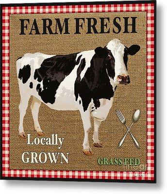 Farm Fresh-jp2381 Metal Print by Jean Plout