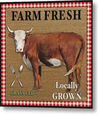 Farm Fresh-jp2383 Metal Print by Jean Plout