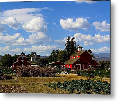 Farm House Metal Print by Scott Brown