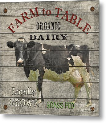 Farm To Table Dairy-jp2629 Metal Print by Jean Plout