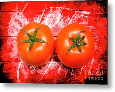 Farmers Market Tomatoes Metal Print by Jorgo Photography - Wall Art Gallery
