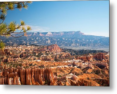Farview Point, Bryce Canyon N.p. Metal Print