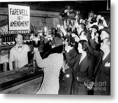 Farwell 18th Amendment Metal Print