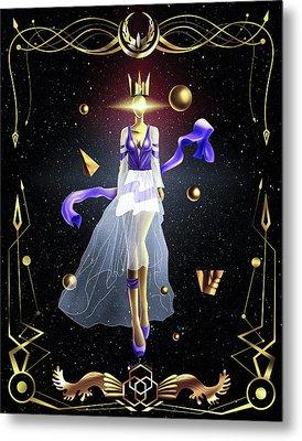 Fashion Goddess No. 2 Metal Print