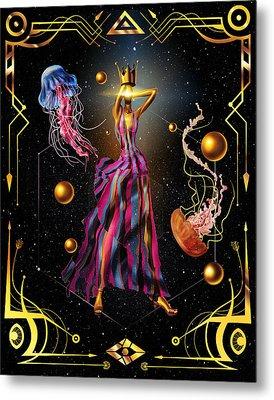 Fashion Goddess No. 3 Metal Print