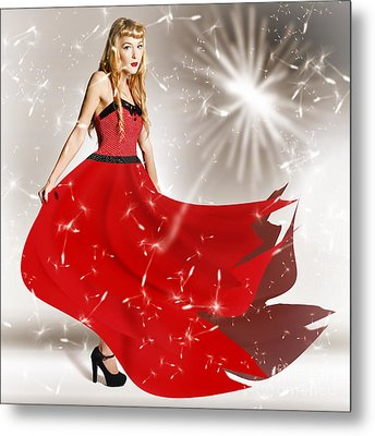 Fashion Love In The Spread Of Designs Metal Print by Jorgo Photography - Wall Art Gallery