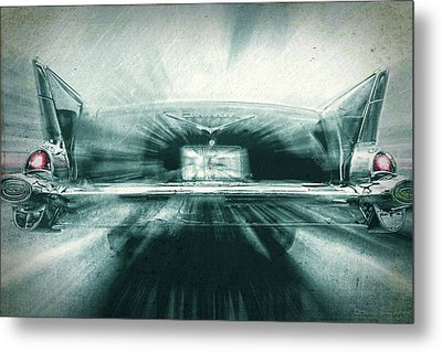 Fast 57' Metal Print by Marvin Spates