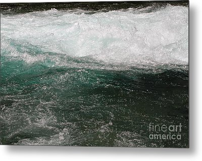 Fast Water Metal Print by Edward R Wisell