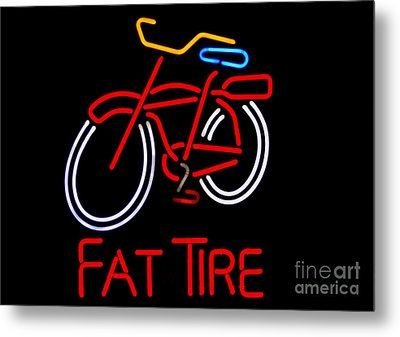 Fat Tire  Metal Print