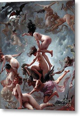 Faust's Vision Metal Print by Luis Riccardo Falero