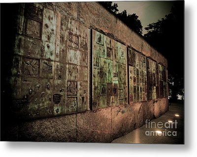 Fdr I Metal Print by Irene Abdou