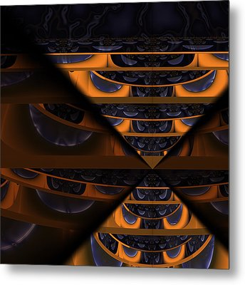 Fear Of What Others Might Think Metal Print