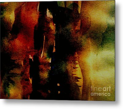 Fear On The Dark Metal Print