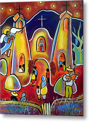 Feast Day Celebration Metal Print