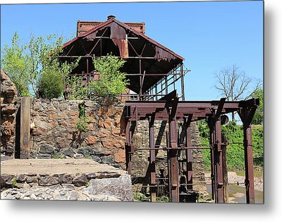 Feed Mill Metal Print by Dayton Preston