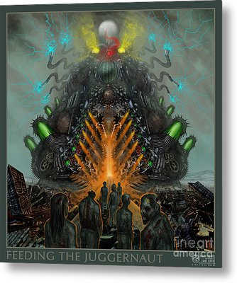 Feeding The Juggernaut Metal Print by Tony Koehl