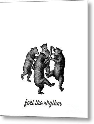 Feel The Rhythm Metal Print by Edward Fielding