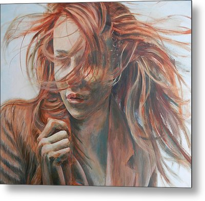 Feel The Wind Metal Print