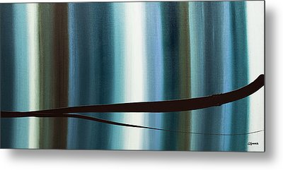 Metal Print featuring the painting Feeling Engaged by Carmen Guedez