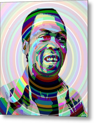 Fela The Voice Of The Voiceless Metal Print by Harold Egbune