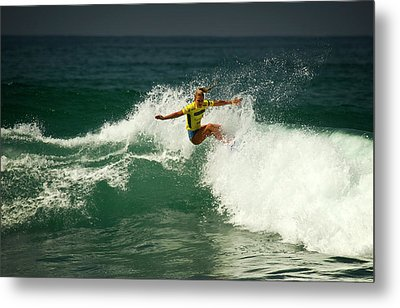 Felicity Palmateer Aus Metal Print by Waterdancer