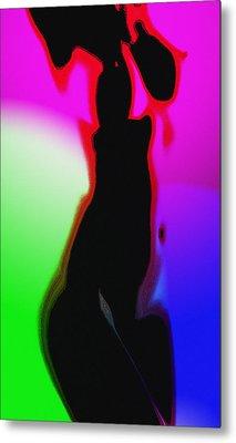 Female In Color 2 Metal Print