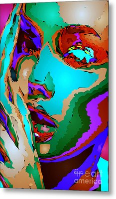 Female Tribute V Metal Print