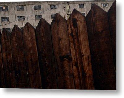 Fence Metal Print by Jez C Self