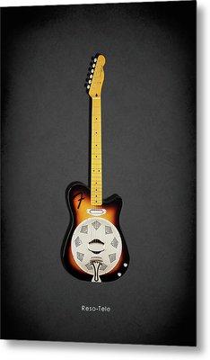 Fender Reso-tele Metal Print by Mark Rogan