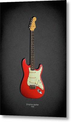 Fender Stratocaster 63 Metal Print by Mark Rogan