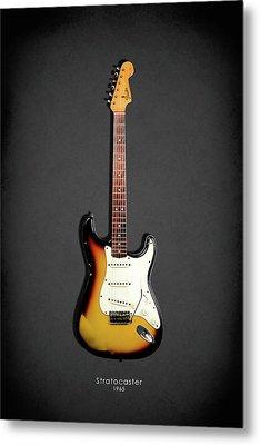 Fender Stratocaster 65 Metal Print by Mark Rogan