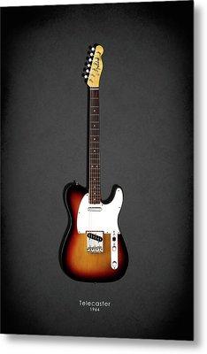 Fender Telecaster 64 Metal Print