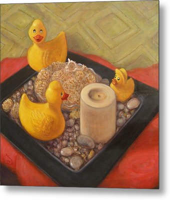 Feng Shui Metal Print by Donelli  DiMaria