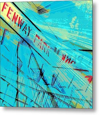Fenway Park V1 Metal Print by Brandi Fitzgerald