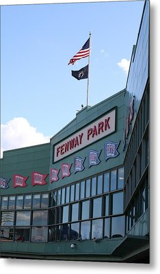 Fenway Park Centennial Metal Print by Loud Waterfall Photography Chelsea Sullens