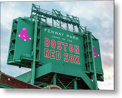 Fenway Park - Home Of The Red Sox Metal Print