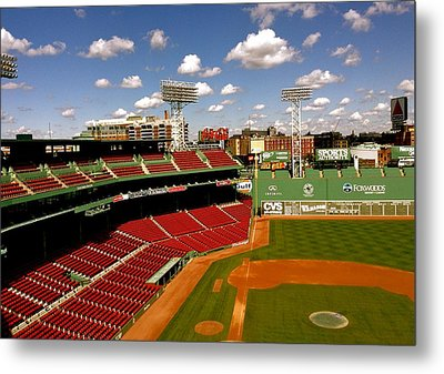 Fenway Park Iv  Fenway Park  Metal Print by Iconic Images Art Gallery David Pucciarelli