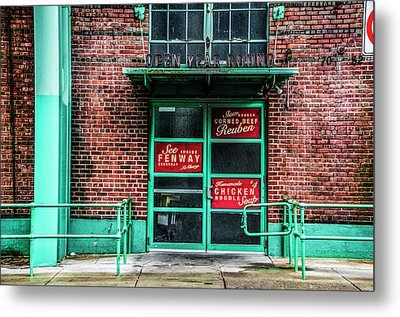 Fenway Park - The Bleacher Bar Metal Print
